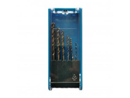 Sada vrtáků do kovu cobalt 1-6,5mm, 13dílů HSS CO 5 DIN338