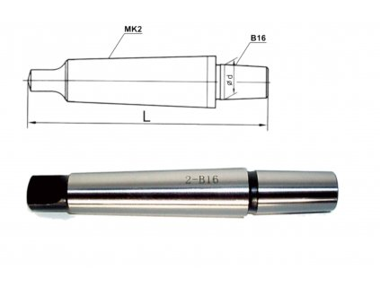 Trn pro vrtackove sklicidlo MK2 B16
