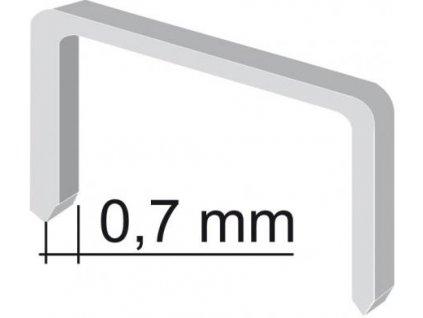 Sponky - 8 mm (1000ks)