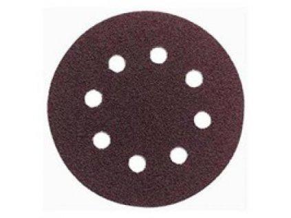 Brusný disk - pr. 125 zr. 100 pro ESM1007, ESM1009, WU652 (suchý zip, 8 děr)