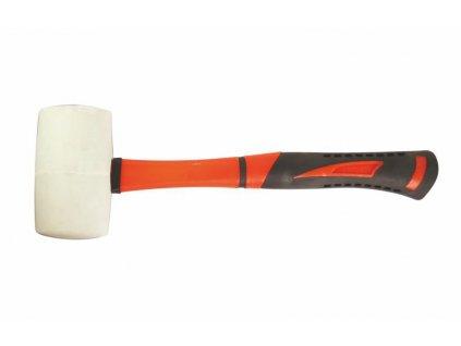 Gumová palice bílá 445g