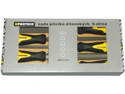 sada pilníků 5-dílná 200mm v krabici 10.14-9902-2
