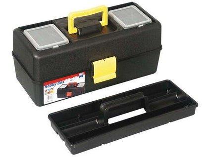 kufr plast. 335mm se zásobníkem, 2 org.ve víku 44.1260