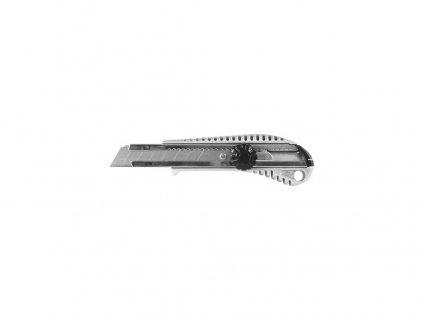 nůž ulamovací 18mm kovový s točítkem 52.01-18-06