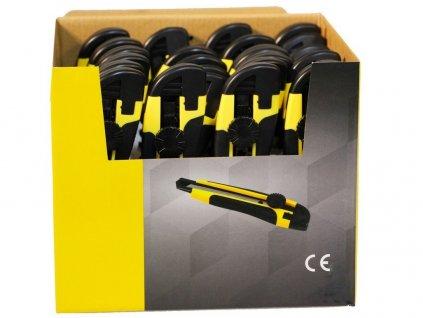 sada nožů 01-18-10(toč.) v prod. boxu 24 ks 52.01-18S2-24