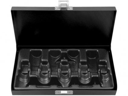 kufr kovový na sady hlavic