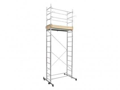 plošina pracovní Al 395x130x60 cm, prac. výška 2,8-5,0 m (2 krabice) 10.66-1-280