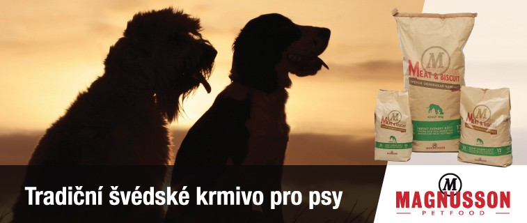 Tradiční švédské krmivo pro psy Magnusson