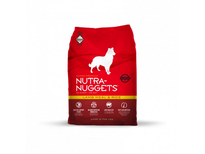 Nutra Nuggets Lamb & Rice 15 kg