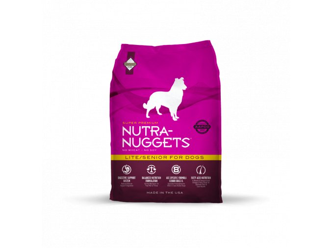Nutra Nuggets Lite & Senior 15kg
