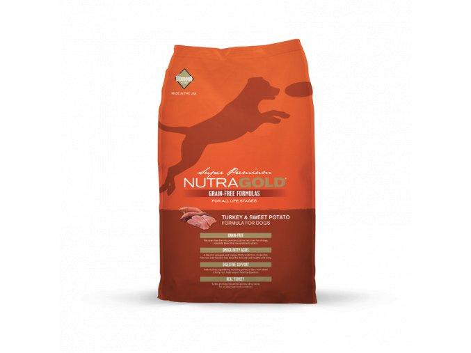 Nutra Gold Turkey&Sweet Potato GRAIN FREE 2,25 kg