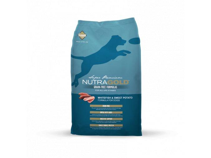 Nutra Gold Whitefish&Sweet Potato GRAIN FREE 2,25 kg