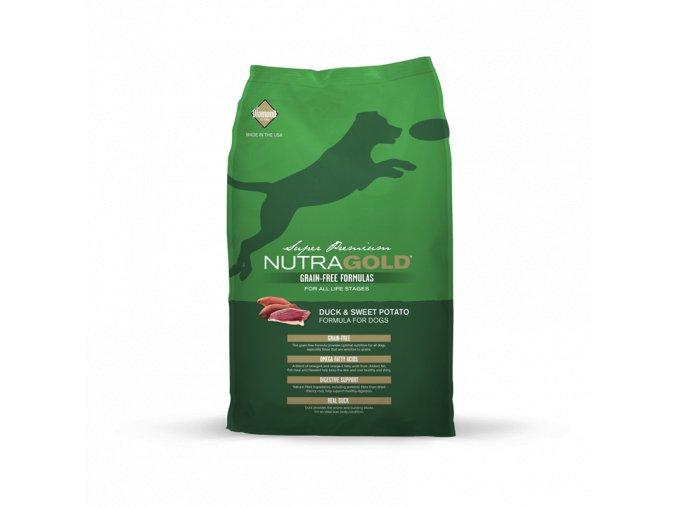 Nutra Gold Duck&Sweet Potato GRAIN FREE 13,6 kg