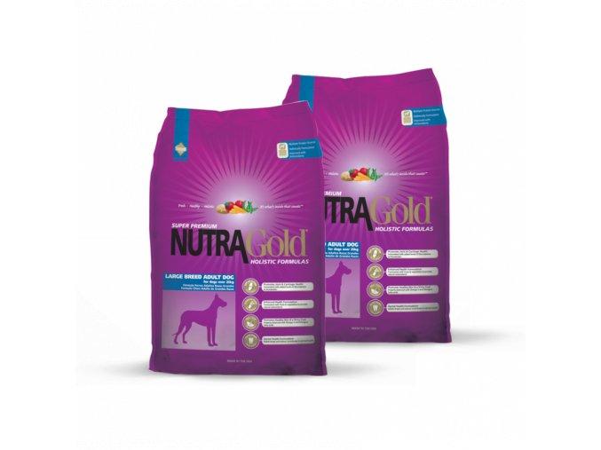 Dvojbalení Nutra Gold Adult Large Breed 15 kg