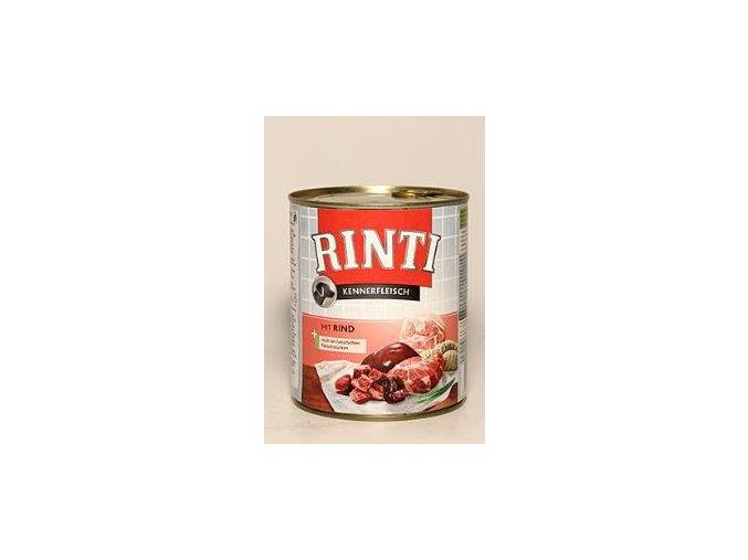 Rinti Dog konzerva hovězí 800g ( 10ks )