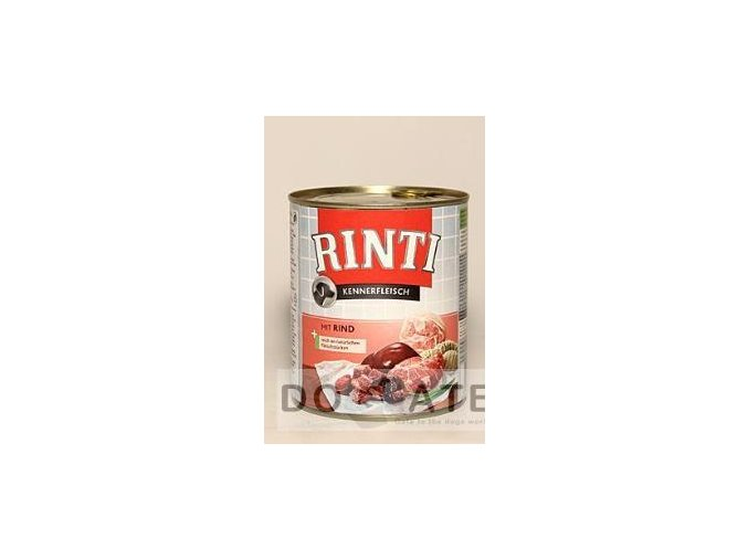 Rinti Dog konzerva hovězí 800g (5ks)