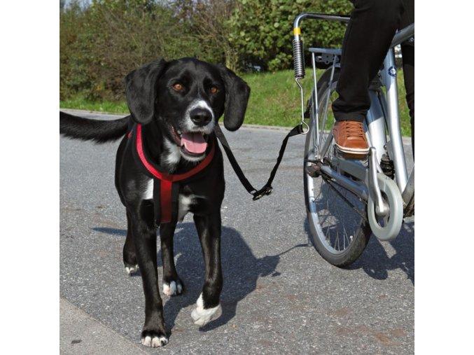 TRIXIE Vodící set De Luxe na kolo pro psa