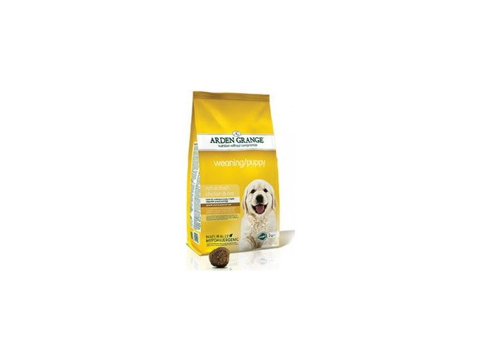 Arden Grange Weaning/Puppy rich in fresh Chicken & Rice 2kg