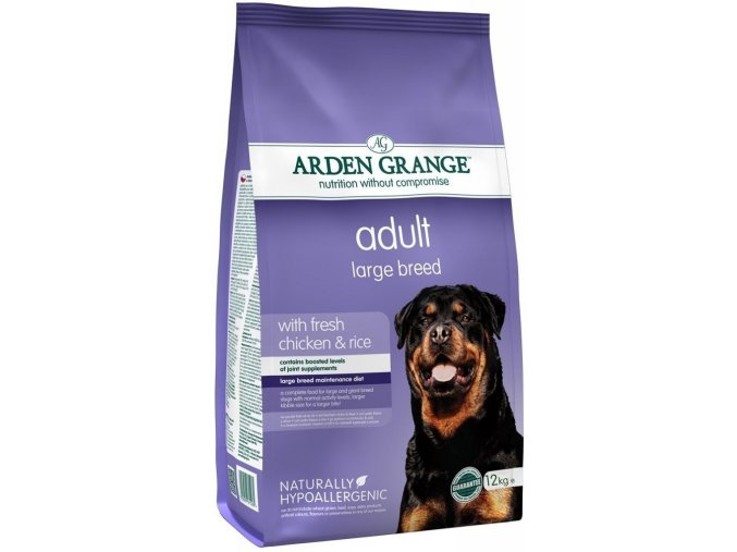 Arden Grange Adult Large Breed with fresh Chicken & Rice 2kg