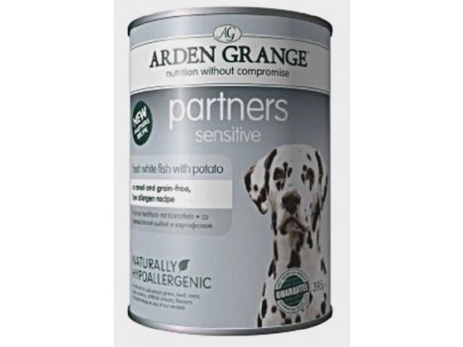 Arden Grange Partners fresh Sensitive 395g