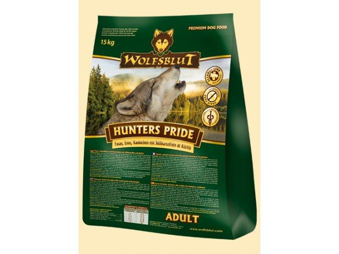 WOLFSBLUT HUNTERS PRIDE 15kg - granule pro psa z bažanta, kachny a králíka