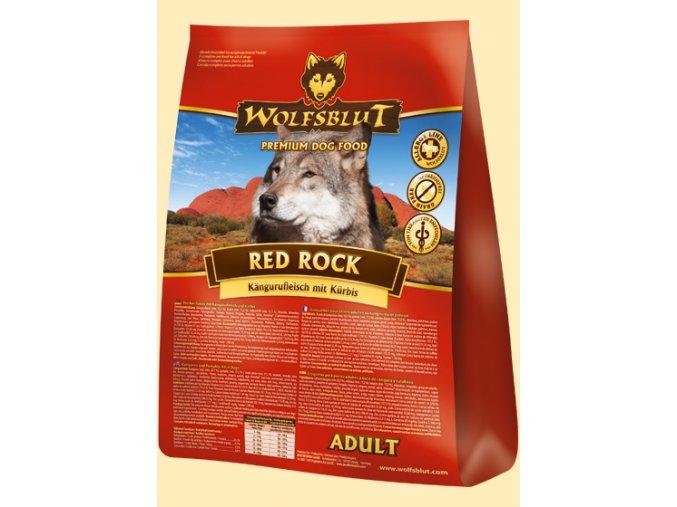 WOLFSBLUT RED ROCK 15kg - granule pro psa z Australského klokana