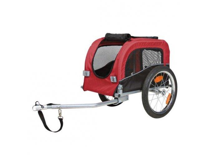 Vozík pro psa za jízdní kolo S 38x37x58cm do 20 kg