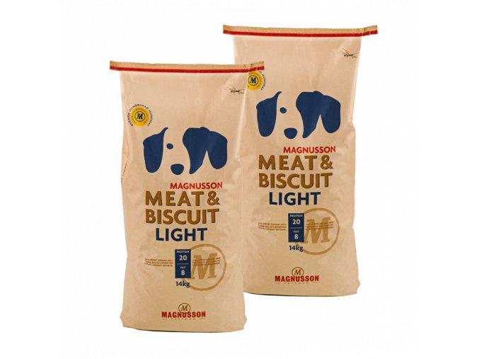 Dvojbalení Magnusson Meat & Biscuit LIGHT 14 Kg