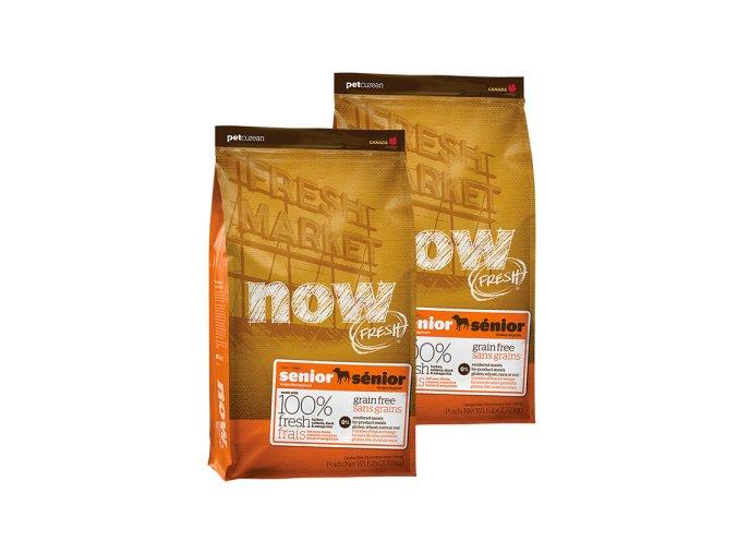 DVOJBALENÍ NOW FRESH Grain Free Senior 11,33kg