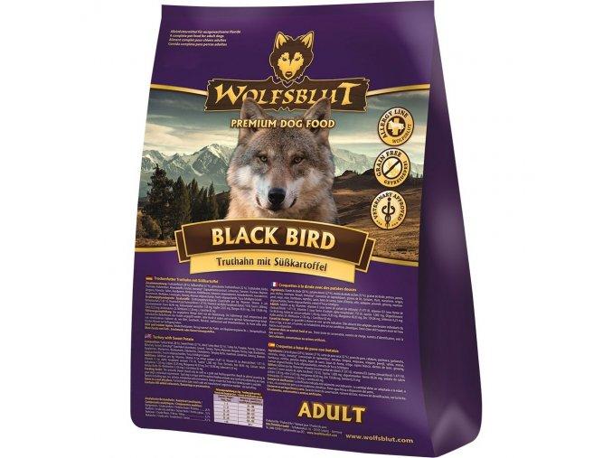 WOLFSBLUT BLACK BIRD 15kg - granule pro psa z krůty