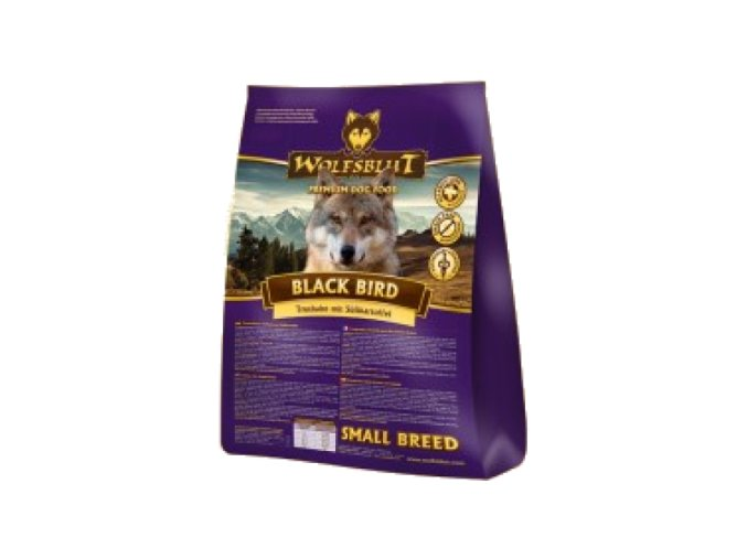 Wolfsblut Black Bird Small Breed 7,5 kg