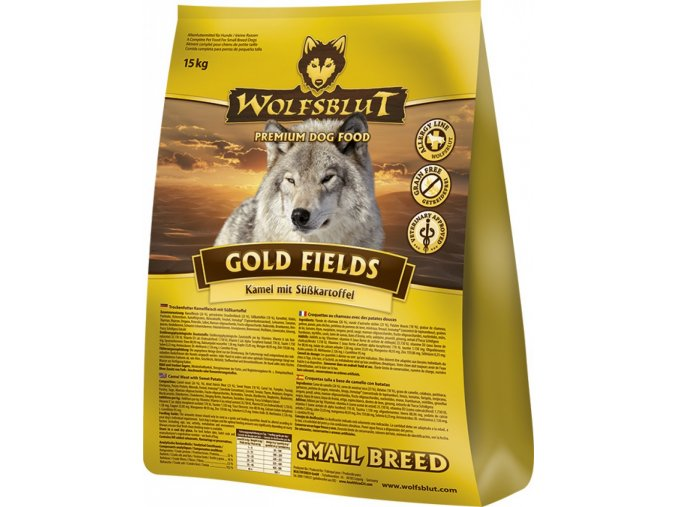 Wolfsblut Gold Fields Small Breed 15 kg
