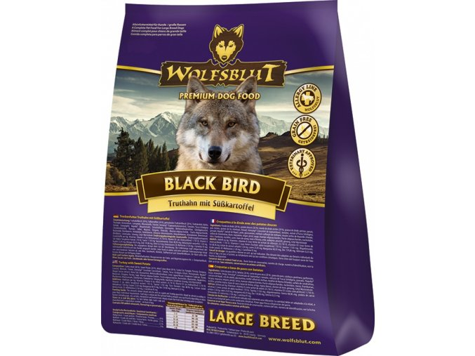 Wolfsblut Black Bird Large Breed 15kg