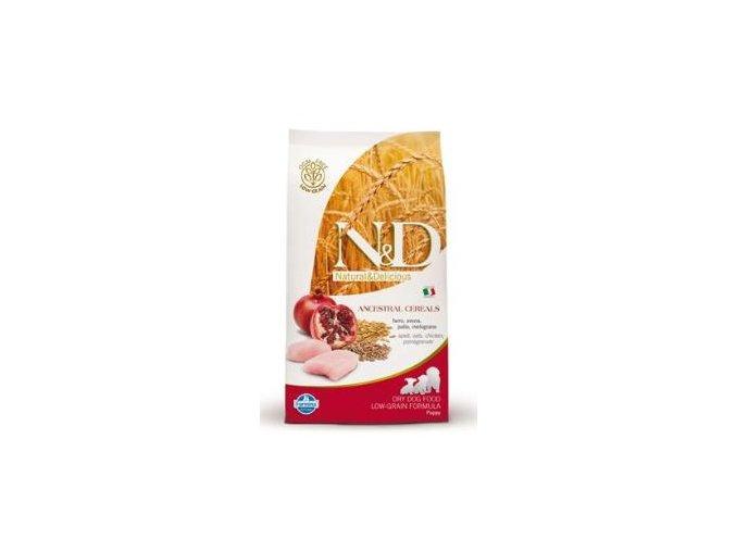 N&D Low Grain DOG Puppy Chicken & Pomegranate 800g