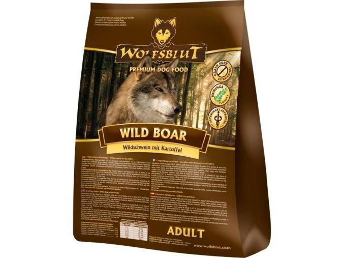 wolfsblut wild boar granule pes