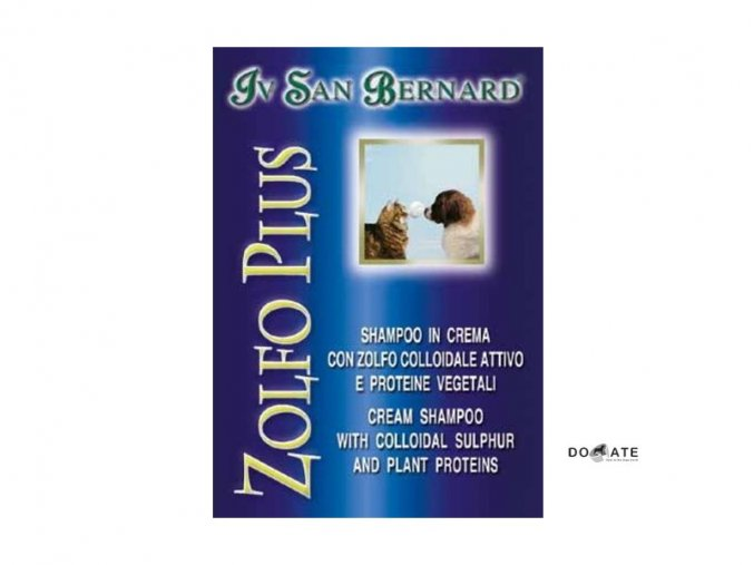 Iv San Bernard Krémový šampon ZOLFO PLUS - na lupy a parazity 250ml