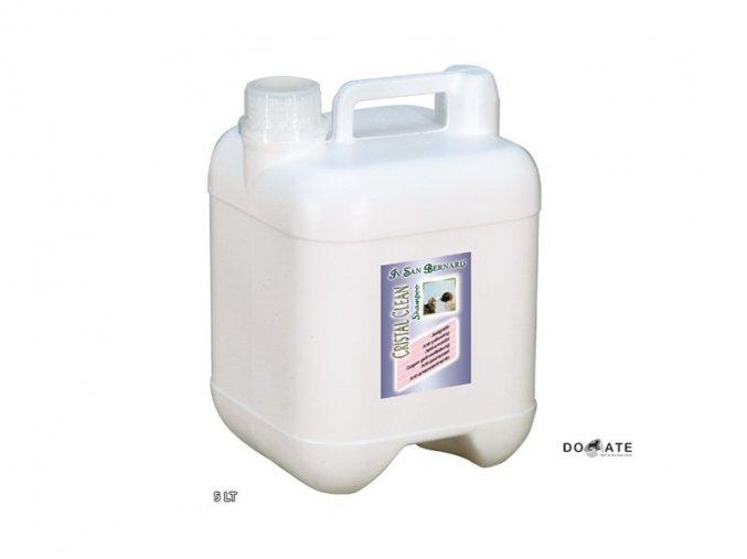 Iv San Bernard ŠAMPON CRISTAL CLEAN - pro bílou, černou a šedou srst 5L