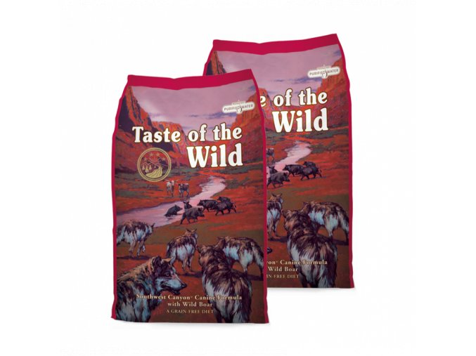 Dvojbalení Taste of the Wild Southwest Canyon Canine 13 kg