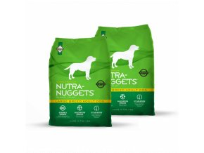 Dvojbalení Nutra Nuggets Large Breed Adult 15 kg