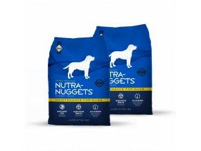 Dvojbalení Nutra Nuggets Maitenance 15 kg