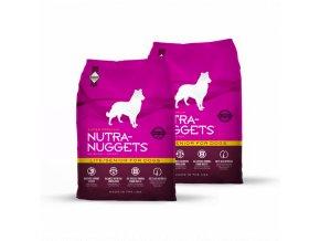 Dvojbalení Nutra Nuggets Lite & Senior 15kg
