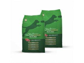 Dvojbalení Nutra Gold Duck&Sweet Potato GRAIN FREE 13,6 kg