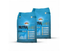Dvojbalení Nutra Gold Adult Dog 15 kg