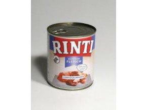 Rinti Dog konzerva drůbeží srdíčka 800g ( 10ks )