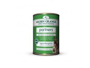 Arden Grange Partners fresh lamb, rice & vegetables 395g