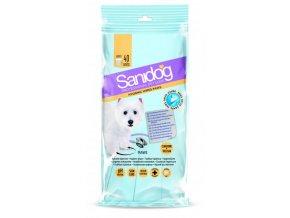 SANIDOG čistící ubrousky na packy [40ks] Paws pro psy