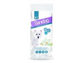 SANIDOG čistící ubrousky [42ks] White Musk pro psy