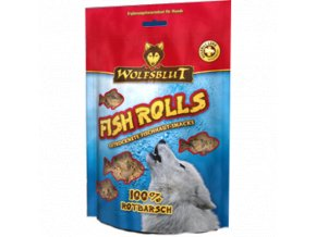 FISH ROLLS ROTBARSCH 100 G
