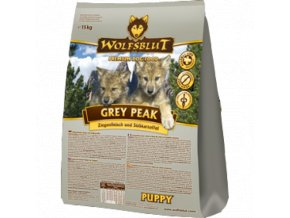 WOLFSBLUT Grey Peak Puppy 15kg