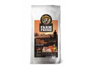 Farm Fresh Chicken & Turkey Active/Puppy Grain Free 10kg
